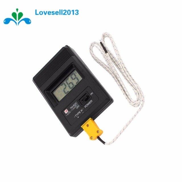 Tm902c lcd k نوع ميزان الحرارة متر مسبار + الحرارية دقق جديد