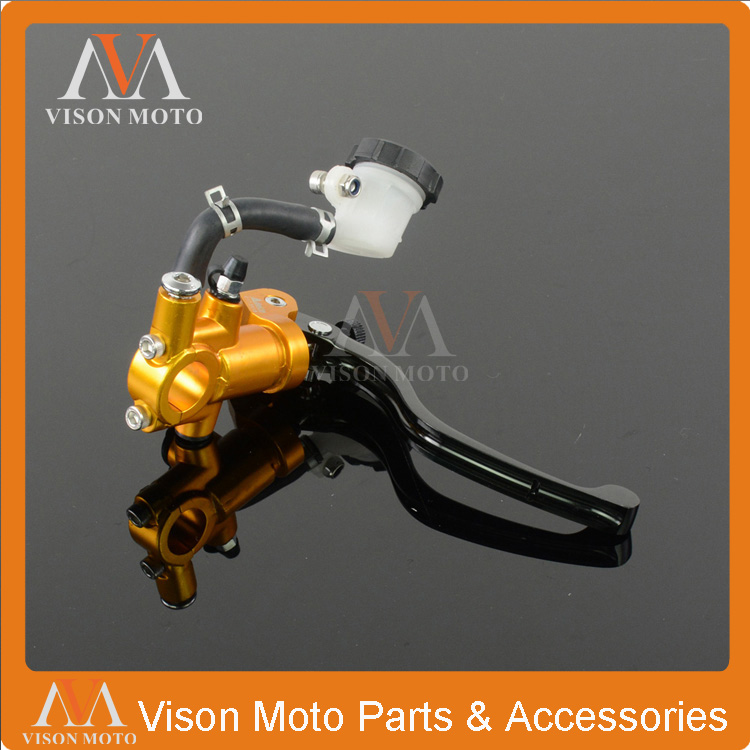 Billet CNC Hydraulic Brake Clutch Lever Master Cylinder For Suzuki RM85 125 250 RMZ250 450 RMX250 DR250 DRZ400 S/SM DR650 Racing billet cnc hydraulic brake clutch lever
