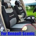 Personalizado cubiertas de coche para renault scenic parts 2011 cinturón de asiento de coche sándwich cubierta de asiento cubre accesorios de automóviles coche asientos cojines