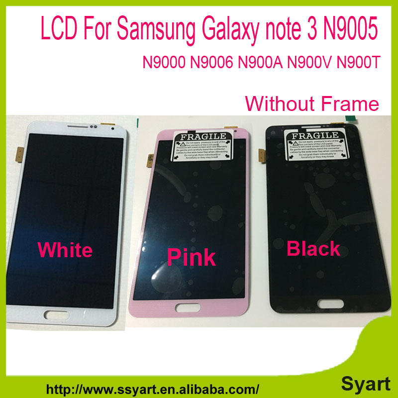 LCD with Digitizer Touch Screen Full LCD DIsplay Assembly For Samsung Galaxy note 3 N9000 N9005 N9006 N900A N900V N900T in Stock