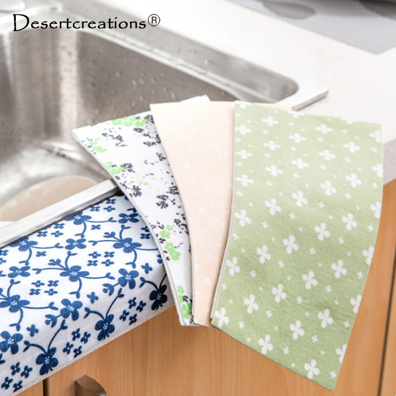 US $1.28 10% OFF|Waterproof Kitchen Sink Mats Toilet Bathroom Wash Gargle  Dripping Wet Absorption Posts 2400 Electrostatic Stickers-in Mats & Pads ...