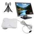 Recentes Branco TW40 40DBI Antena Booster Amplificador de Sinal de Banda Larga Para 3G 4G TV Móvel frete grátis