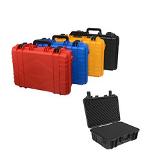 470x360x168mm Safety Instrument Tool Box ABS Plastic Toolbox Tool Case Impact Resistant Suitcase Toolbox Equipment Camera Case(China)
