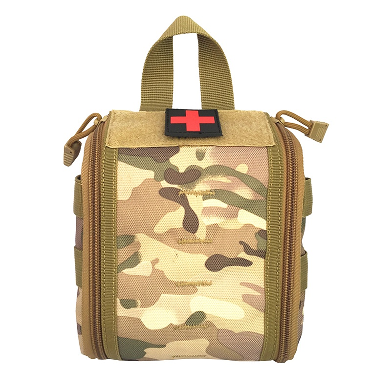 Tactical Molle Medical Kit Pouch Emergency Survival Gear Bag First Aid Kit Pouch Tool EDC Hunting Utility Belt Bag New cqc tactical molle system medical pouch utility edc tool molle pouch waist pack phone pouch hunting 1000d molle bag