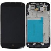 100 TESET High Quality For LG Google Nexus 4 Optimus E960 LCD Display Digitizer Touch Screen