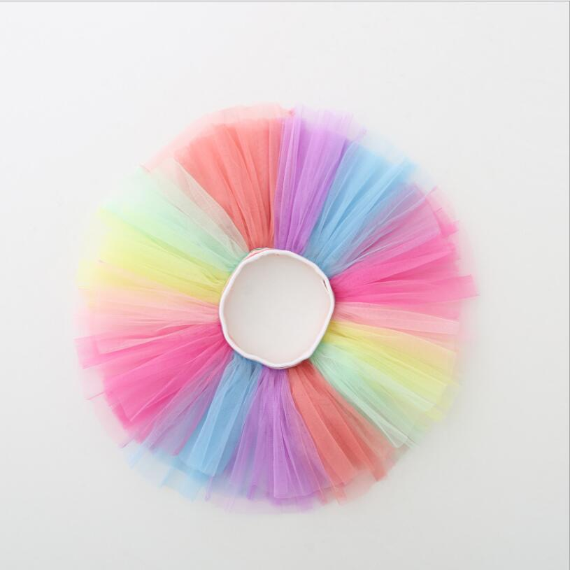 Summer Baby Girls Tutu Falda Fluffy Kids Ballet Niños Pettiskirt Baby Girl Faldas Princesa Tulle Party Dance Faldas Para Niñas