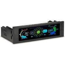 STW-5036 5,25 дюймовый накопитель вентилятор Bay Скорость Температура контроллер Поддержка сигнализации Функция для настольного компьютера, новое поступление