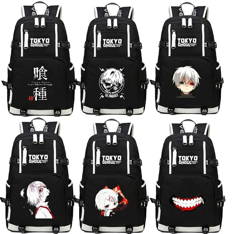 Tokyo Ghoul Cosplay Backpack Anime Kaneki KenNylon School Bag Unisex