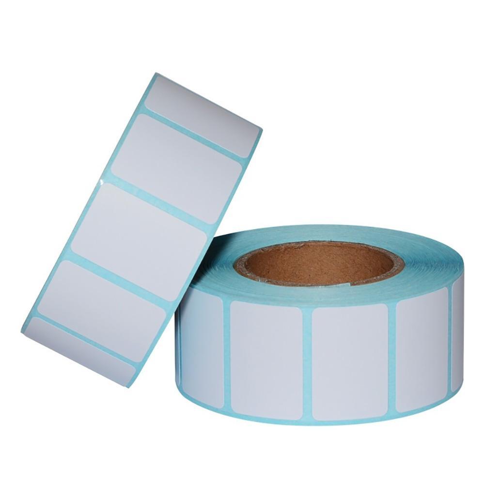 Nova Chegada 1000 pcs/Roll 30x20mm Térmico Auto-adesivo Etiqueta de Código de Barras Etiqueta de Papel de Impressão
