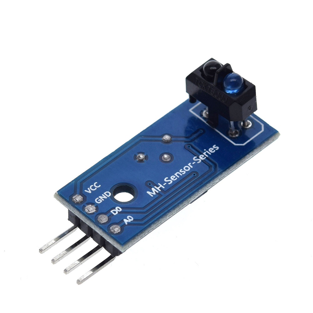 1 pces tcrt5000 infravermelho reflexivo ir interruptor fotoelétrico barreira linha pista sensor módulo azul