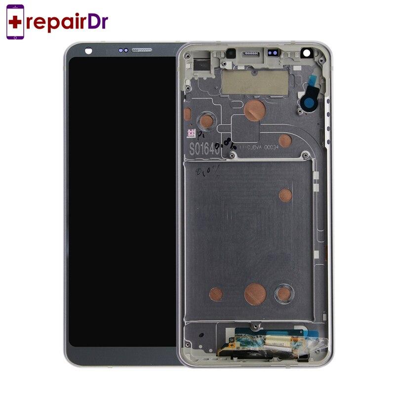 DHL 5 pièces Original pour LG G6 LCD écran tactile numériseur assemblée avec cadre H870 H870DS H872 testé pour LG G6 Lcd écran