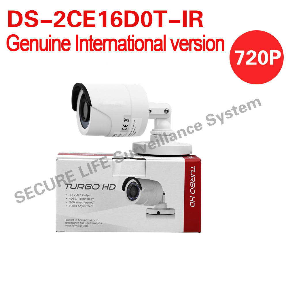 DS-2CE16D0T-IR English version HD1080P IR Bullet turbo HD TVI Camera up to 20m IR OSD menu IP66 up to coax шабалов д метро 2033 право на жизнь
