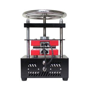 Image 4 - Free shipping  Adjustable Pressure Rosin Press Hydraulic Heat Press Machine Dual Heating Plates Oil Extractor   CK220