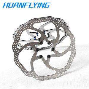2 piezas MTB Road Bike disco plegable Rotores de freno 160mm / 180mm 6 agujeros Rotores de freno de disco 12 Blots Bb5/bb7