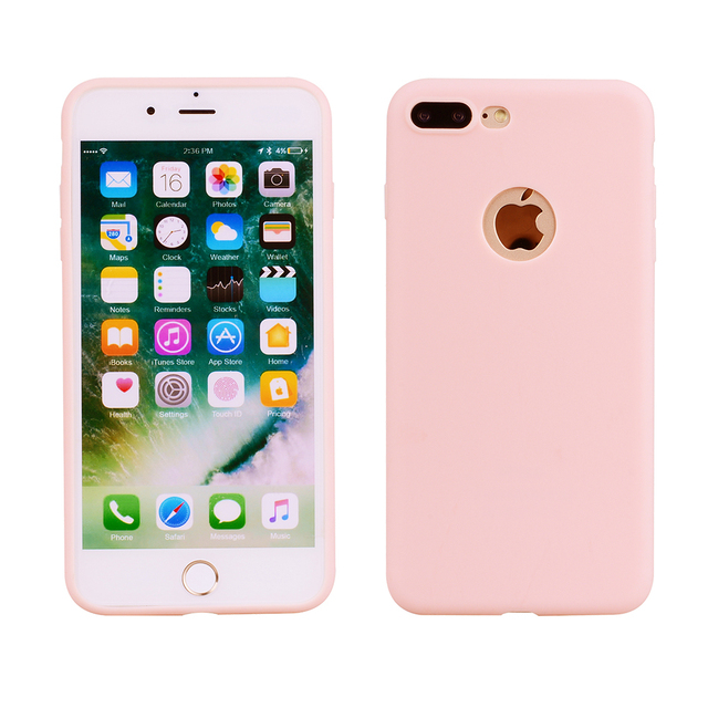 finest selection dd3e8 11f4f US $2.4 |Soft silicone Case Cover For Apple iPhone XS Max X XR Candy Color  Phone Case For iPhone 6 6S 7 8 Plus 5 5S Shockproof Case Funda-in Fitted ...