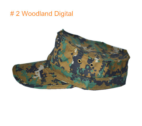53858eee0 US $7.99 |Outdoors Mens Camouflage Octagonal US Army Caps Camo Tactical  Military Paintball Combat Hat Hunting Camping Hiking Sun Cap Hat-in Hiking  ...