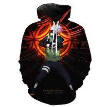 Aikooki Hot Anime Naruto Hoodies Men Women Winter pullovers 3D Hooded Oversized Sweatshirts Tops XXS-4XL