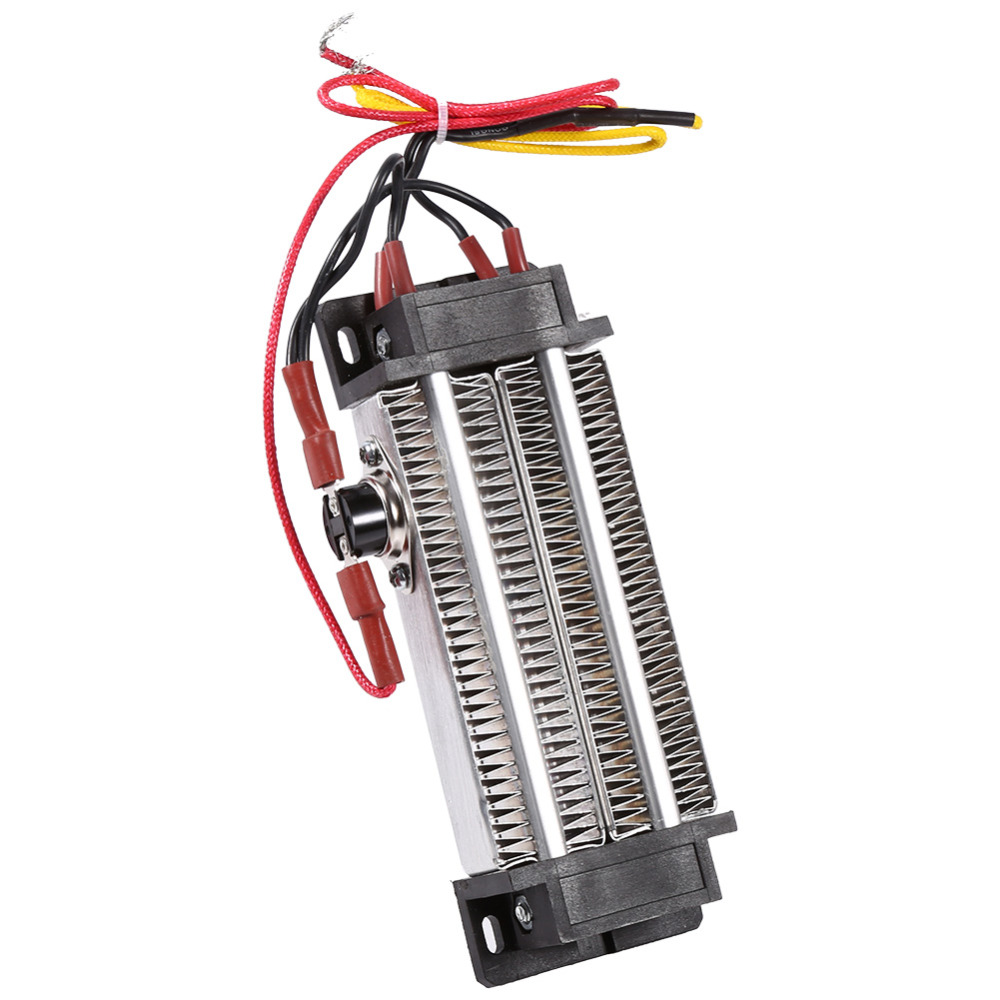 200W Safe Electric Ceramic Thermostatic PTC Heating Element Heater High Power HG