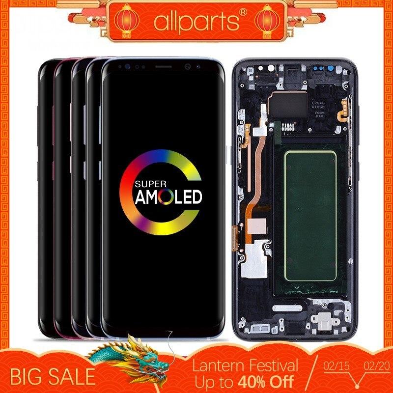 ORIGINE AMOLED pour SAMSUNG S8 écran LCD numériseur à écran tactile remplacement pour SAMSUNG GALAXY S8 Plus LCD SAMSUNG S8 LCD