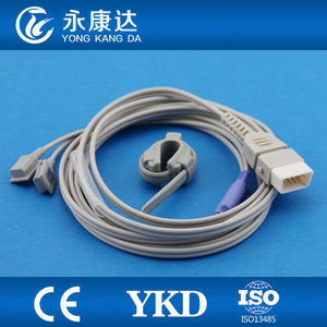 2pcs/pack BCI for 3304, 3303, 3302 medical equipment with Neonate Silicon Wrap sensor DB9