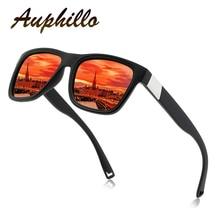 Polarized Sunglasses Men Classic Brand Designer Colorful film Anti-Reflective Square Driving Glasses Eyewear Accessories 181
