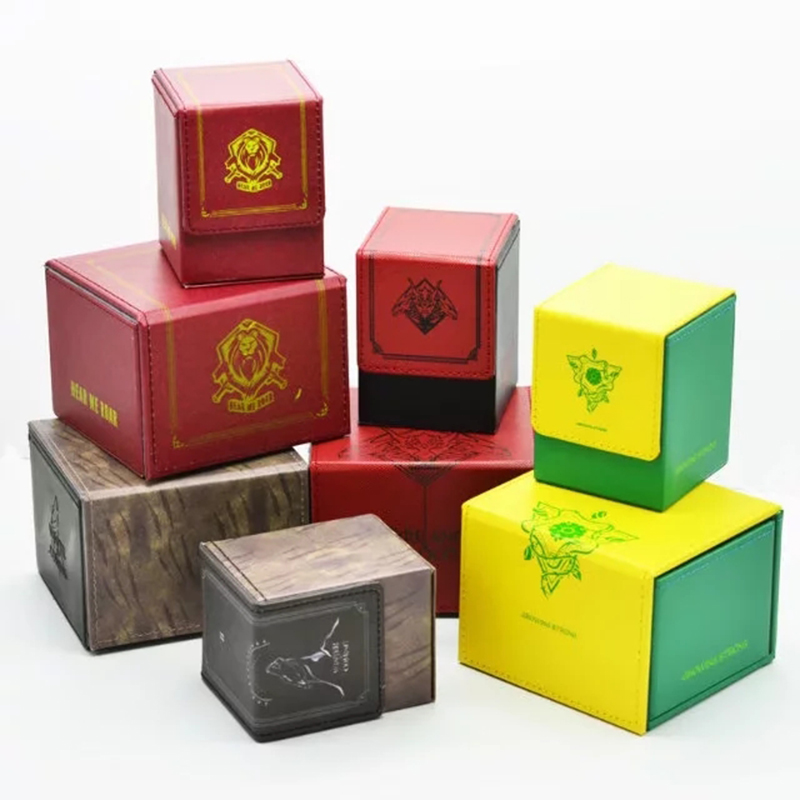TW Cards Box Battlefield House Lannister Magic Trading Cards Deck Box Eternal Gathering Classic Winter is Coming Cards Case