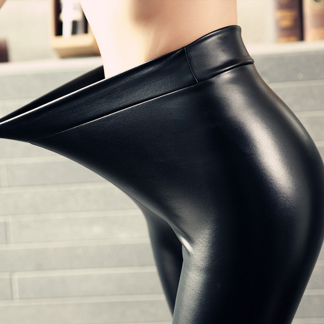 Autumn Leather Leggings