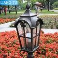 Уличный фонарь  ландшафтный светильник  Европейский садовый уличный светильник  бронзовые классические уличные фонари
