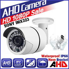 SALE 2018New Style 720P/960P/1080P 1.0MP 2.0MP FULL HD AHD CCTV Camera 36led Outdoor IP66 Infrared Bullet Analog color Vidicon
