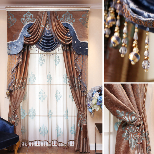 Aliexpress.com : Buy The curtains extreme quality the blind Vivian ...
