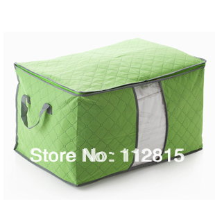 Free shipping 3 colours Portable Folding Multifunctional Storage Organizer Bag Storage Box -Best Fabric Storage