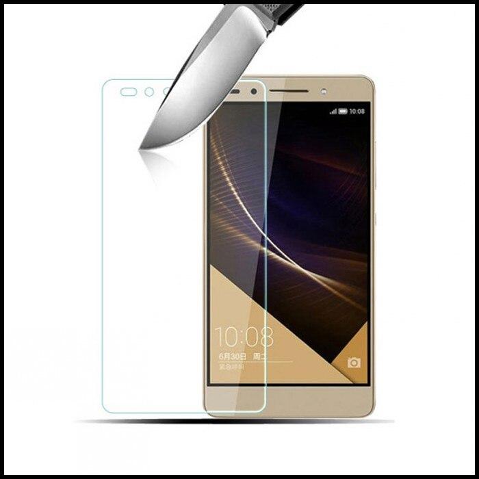 För Huawei P8 P9 7 skärmskydd Honor 5C 5X glasväska Film Funda - Reservdelar och tillbehör för mobiltelefoner