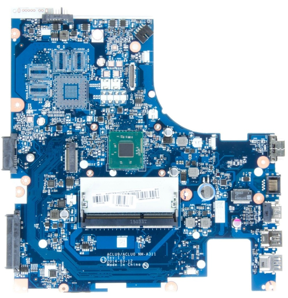 For Lenovo G40-30 laptop Mainboard ACLU9ACLU0 NM-A311 Celeron N2840 SR1YJ  100% test okFor Lenovo G40-30 laptop Mainboard ACLU9ACLU0 NM-A311 Celeron N2840 SR1YJ  100% test ok