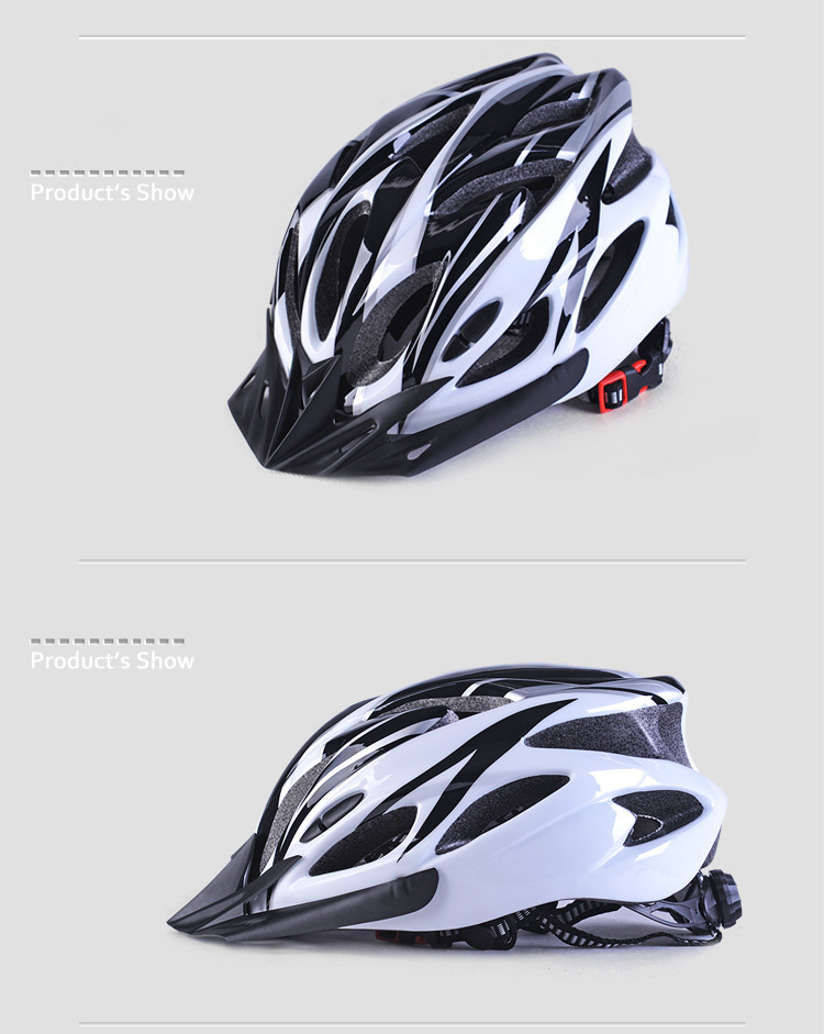 220g Ultralight Bicycle Helmet CE Certification Cycling Helmet In-mold Bike Safety Helmet Casco Ciclismo 56-62 CM-21