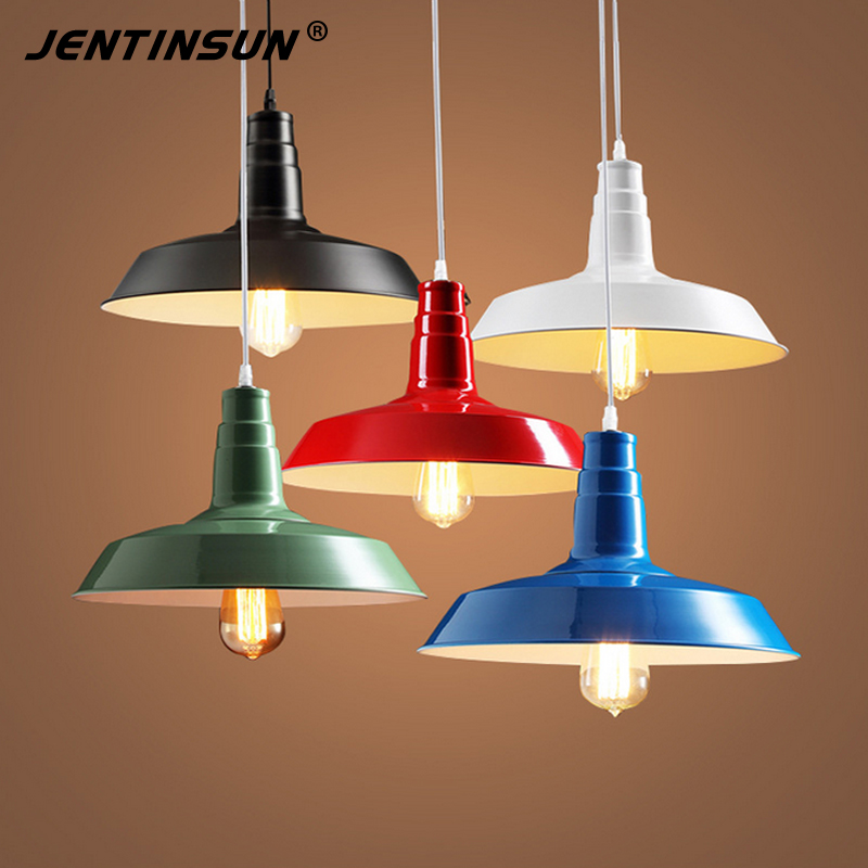 Hot American Nordic Style Colored Chandelier LED for Cafe Restaurant Bar Loft Design Hanging Lamp Retro Industrial Iron Lamps romantic retro minimalist loft industrial corridor chandelier fashion style heavy metal chandelier