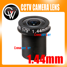5MP Panoramic 1.44mm lens 180 Degree F2.0 1/3″ M12 CCTV lens Fisheye for 720P/1080P CCTV IP Camera