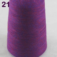 Sales 1X100g high quality 100% pure cashmere warm soft hand woven tower yarn Dark Orchid 26221