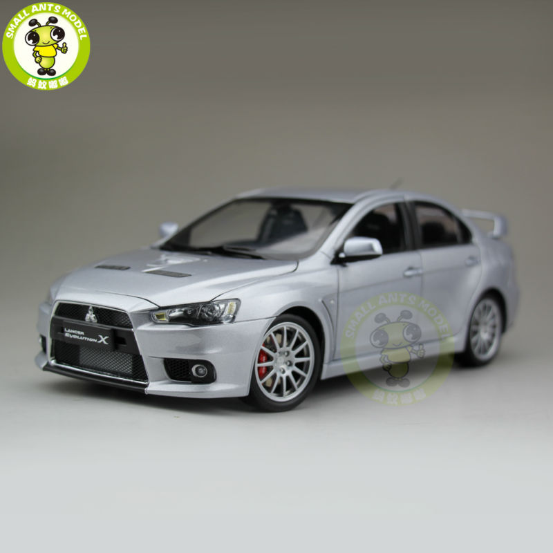 1:18 Mitsubishi Lancer EVO-X EVO X 10 Left Steering Wheel Diecast Model Car 2015 new male baridian us 100 dollar bill fake money short purses billeteras hombre women s wallets classic flag designer