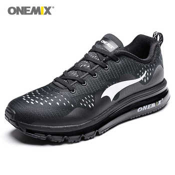 ONEMIX Sport Shoes Black Running Shoes for Men Summer Sneakers Light Walking Shoes Breathable Athletic Women Jogging Shoes Sale - DISCOUNT ITEM  40% OFF Sports & Entertainment