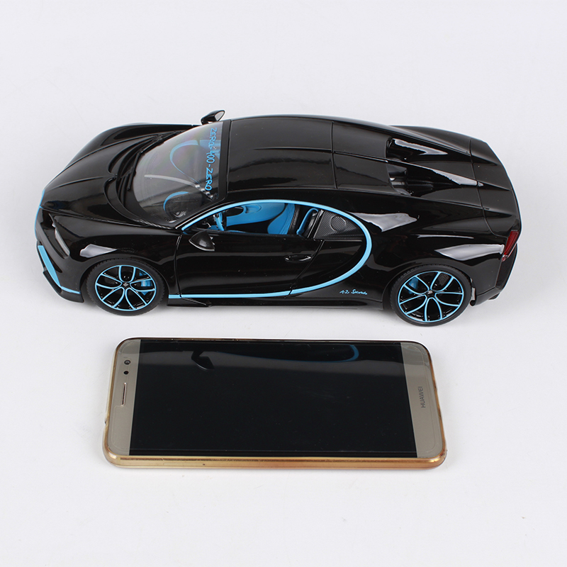Купить с кэшбэком Bburago 1:18 luxury car diecast for Bugatti Chiron new color 252*120*65 car model cool motorcar collecting for men 11040