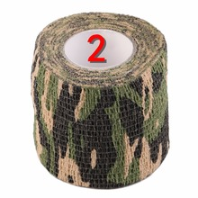 2019 New 1 Roll Men Army Adhesive Camouflage Tape Stealth Wrap Outdoor Hunting Dropshipping