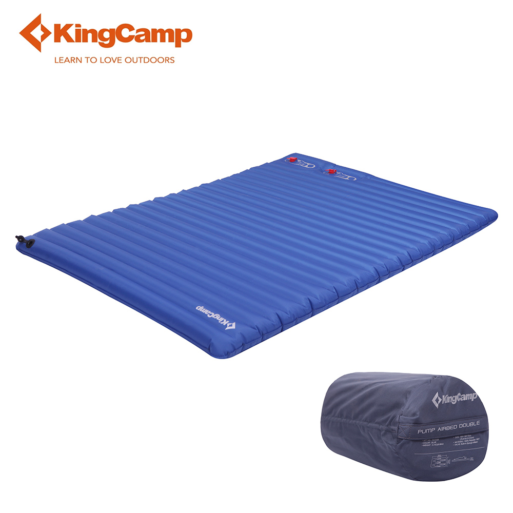 KingCamp Sleeping Pad Ultralight Tent Mat Portable Self Inflating Camping Mattress Damp-proof for Trekking Outdoor