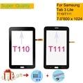 Для Samsung Galaxy Tab 3 Lite 7 0 SM-T111 T111 Wifi T110 SM-T110 сенсорный экран дигитайзер стекло передней сенсорной панели сенсорный экран