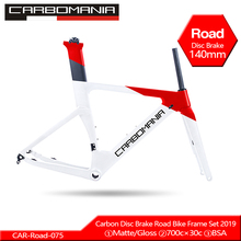 лучшая цена 2019 Carbon Road Frame Disc Brake 700c Carbon Disc Bike Frame Di2 Mechanical Road Cycling Race Bicycle Frame Set Thru Axle 12mm