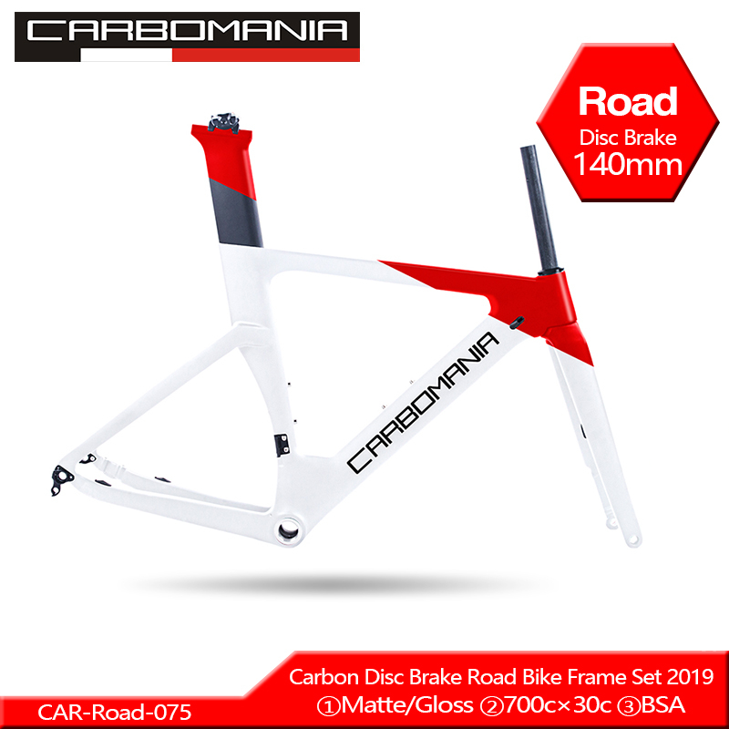 2020 Carbon Road Frame Disc Brake 700c Carbon Disc Bike Frame Di2 Mechanical Road Cycling Race Bicycle Frame Set Thru Axle 12mm
