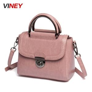 Image 2 - Viney Bag Girl 2019 New Genuine Leather Bag Handbag