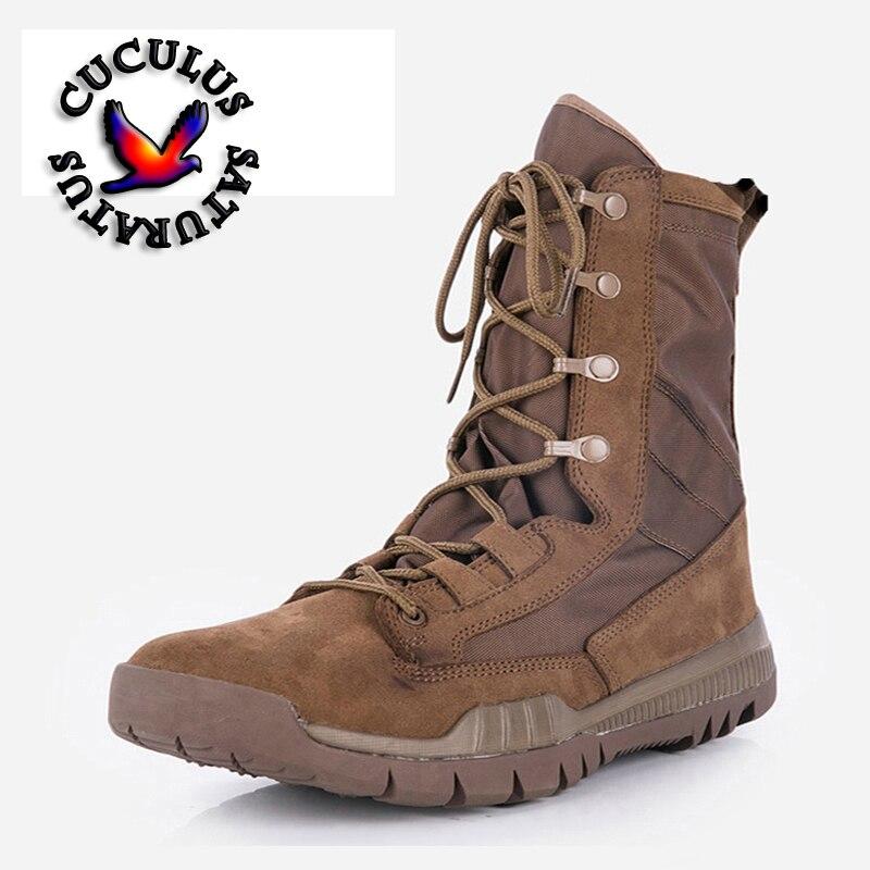 купить Cuculus outdoor climbing hiking boots waterproof men boot new style outdoor mountain trekking hiking shoes ZD144L онлайн