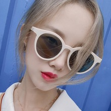 Round Vintage Sunglasses Women Classic Brand Designer Female