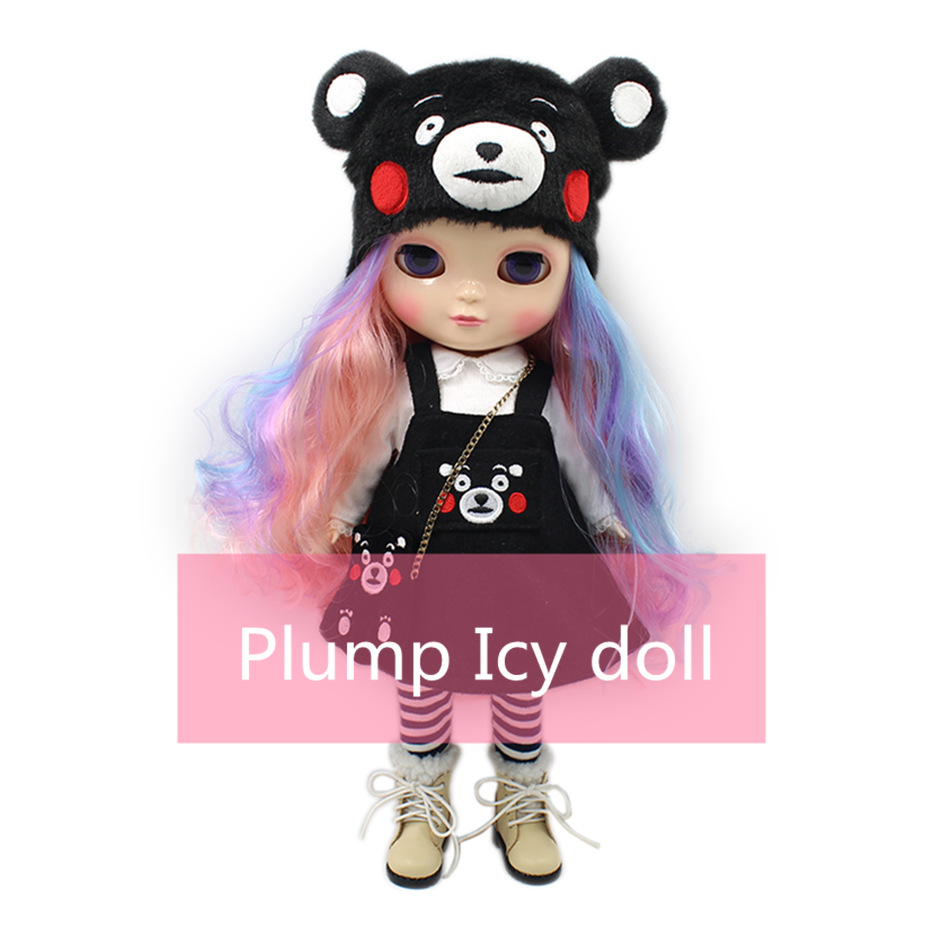 Nude icy plump body doll so cute suitable DIY gift for girl doll like the blyth