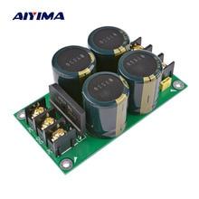 Высокая Мощность усилитель, выпрямитель фильтр конденсатор лихорадки фильтр Мощность Плата усилителя аудио источник питания выпрямителя